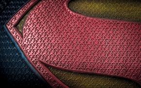 Picture background, color, symbol, emblem, Superman