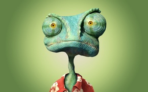 Wallpaper cartoon, lizard, Rango