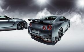 Picture GTR, Light, Nissan, Smoke, R35, Nismo, Rear