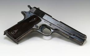 Picture gun, pistol, colt, m1911, 45acp
