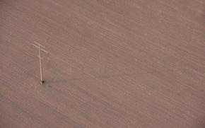Wallpaper post, field, arable land