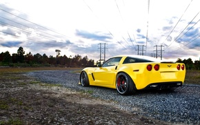 Wallpaper Wallpaper, Z06, Corvette