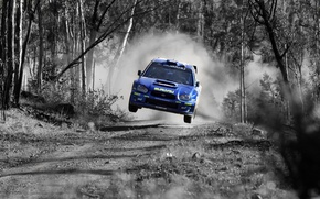 Picture rally, Subaru, freeze frame