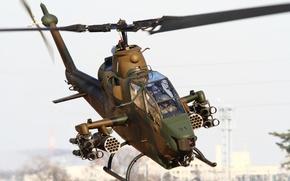 Wallpaper helicopter, Cobra, Bell, TAH-1