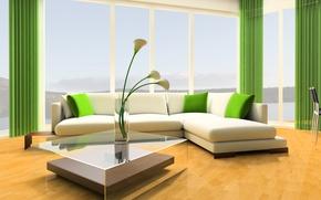 Picture light, design, comfort, interior, living room