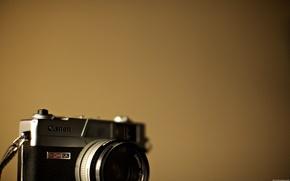 Wallpaper canon, hi-tech, the camera, minimalism, camera