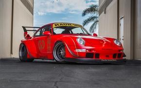 Picture Porsche, 993, RWB, Jenna Belle