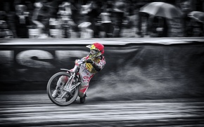 Picture race, motorcycle, Speedway