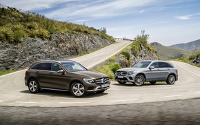 Picture Mercedes, Mountain, Off Road, 4Matic, GLC, Merc GLC, Mercedes GLC 250d 4Matic