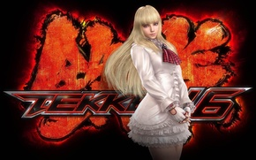 Picture girl, fighting game, Tekken, lili