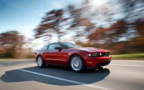 Wallpaper mustang, ford, road