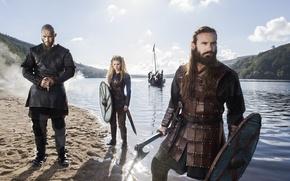 Picture the series, brother, Vikings, The Vikings, Katheryn Winnick, Travis Fimmel, Ragnar Lodbrok