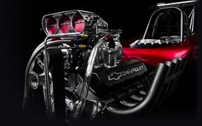 Picture engine, Corvette, Chevrolet, engine, motor, hot rod