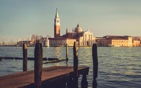 Picture morning, Venice, Morning in Venice