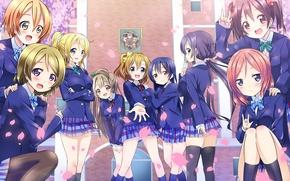 Picture Love Live! School Idol Project, Toujou Nozomi, Kousaka Honoka, Minami Kotori, Sonoda Umi, Hoshizor To …