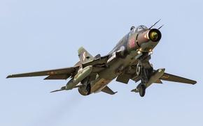 Picture Fighter, bomber, the rise, Su-22