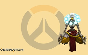 Picture Blizzard, Wallpaper, Game, Overwatch, In zenyat