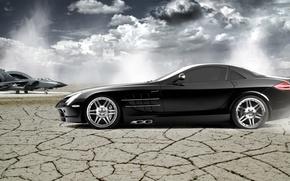Picture McLaren, Mercedes-Benz, SLR, Wallpaper
