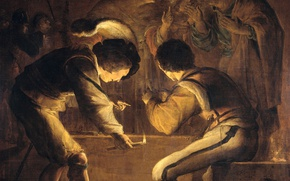 Picture picture, mythology, Renunciation Of The Apostle Peter, Leonard Brahmer