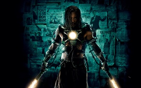 Picture energy, fiction, wall, tattoo, sparks, costume, Newspapers, Iron man, poster, comic, current, clippings, Ivan Vanko, …