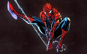 Picture spider-man, superhero, marvel, Spider-Man, Marvel Heroes, trading card steam