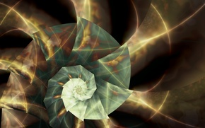 Picture line, Wallpaper, fractals, ray, spiral, sink, triangle, fractal pattern, axis