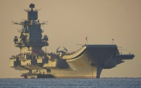 Picture sea, The ocean, fighter, USSR, Navy, Navy, Russia, fighter, Russia, sea, ocean, generation, cruiser, Sukhoi, ...