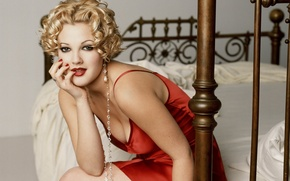 Picture bed, Drew Barrymore, Drew Barrymore