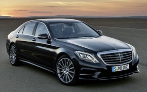 Picture machine, Mercedes-Benz, sedan, Mercedes, BlueTec, S 350
