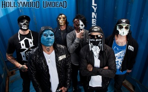 Picture Charlie Scene, Funny Man, Hollywood Undead, Danny, J-DOG, Da kurlzz
