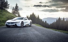 Picture car, machine, auto, BMW, Romania, Carpatian Mountains