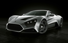 Picture Machine, Grey, Machine, ST1, Zenvo, Car, Car, Cars, Grey, Cars, Zenvo