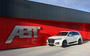 Picture white, Audi, Audi, ABBOT