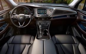 Picture interior, crossover, Buick, 2015-2016
