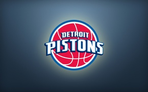 Picture Sport, Basketball, Background, Logo, NBA, Detroit, Pistons
