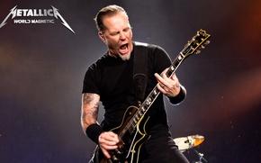 Picture music, scene, music, concert, Rock, electric guitar, Rock, Metallica, thrash metal, thrash metal, hard rock, …