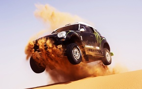 Picture Sand, Mini, Black, Sport, Machine, Speed, Race, Mini Cooper, Dakar, Mini, 2014, Dune, X-raid, In …