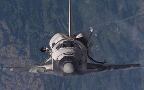 Wallpaper NASA, Shuttle, space