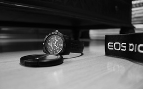 Picture Watch, Canon, timex expedition, a lens cap