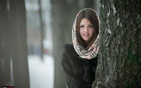Picture girl, snow, photographer, girl, photography, photographer, Eugene APIN, Evgeniy Apin