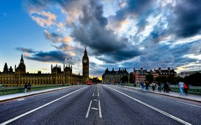 Picture bridge, big Ben, Londo