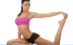 Picture pose, yoga, stretching