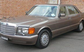 Picture mercedes-benz, w126, sel