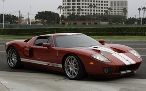 Picture red, wheels, ford, hre, gt