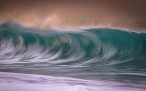 Picture sea, the ocean, wave, excerpt