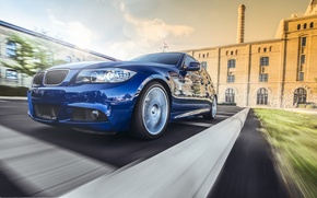 Picture BMW, BMW, before, blue, blue, Sport, E90, The 3 series, 335i M
