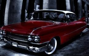 Picture background, Eldorado, Cadillac, HDR, classic, Cadillac, Eldorado
