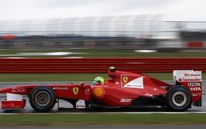 Picture Ferrari, 2011, Silverstone, Massa