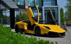 Picture Lamborghini, Murcielago, SuperVeloce, Yellow, LP670-4 SV