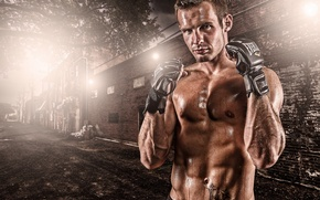 Picture Gloves, Fight, Softbox
